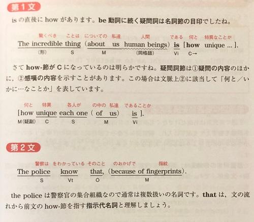 英文解釈の技術の構文解説