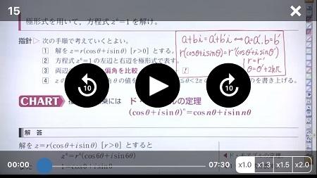 青チャートのアプリと解説動画