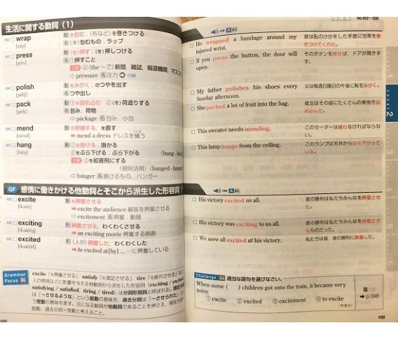英単語帳データベースの中身