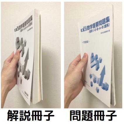 数学重要問題集の問題冊子と解説冊子