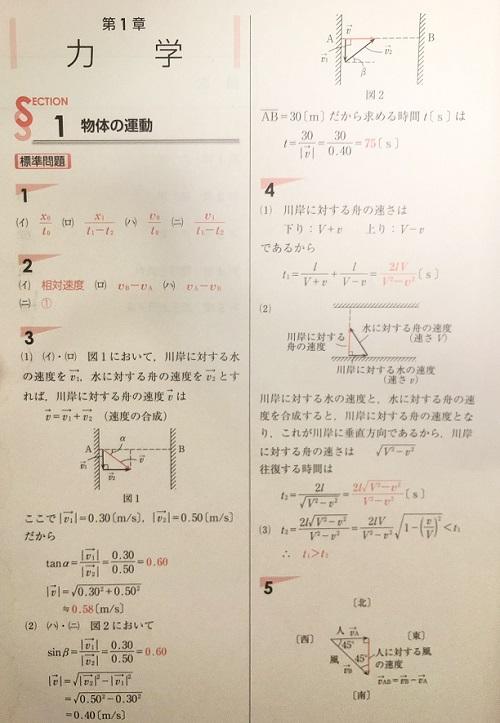 体系物理の解答と解説