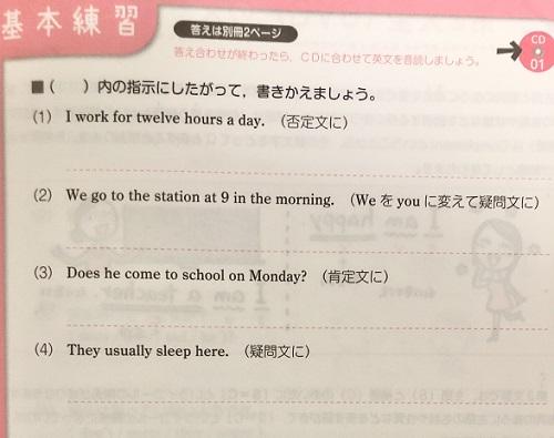 高校英文法をひとつひとつわかりやすくの問題