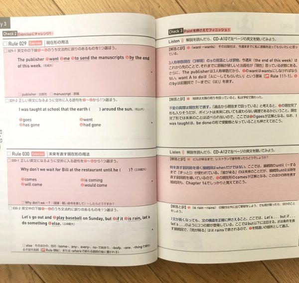 キク英文法の問題と解説