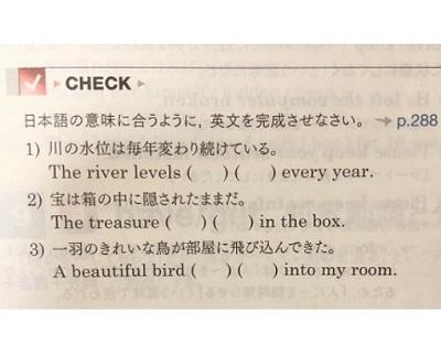 総合英語Beのチェック問題