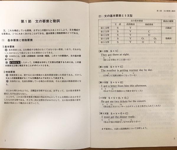 英文読解の透視図・英文読解再入門