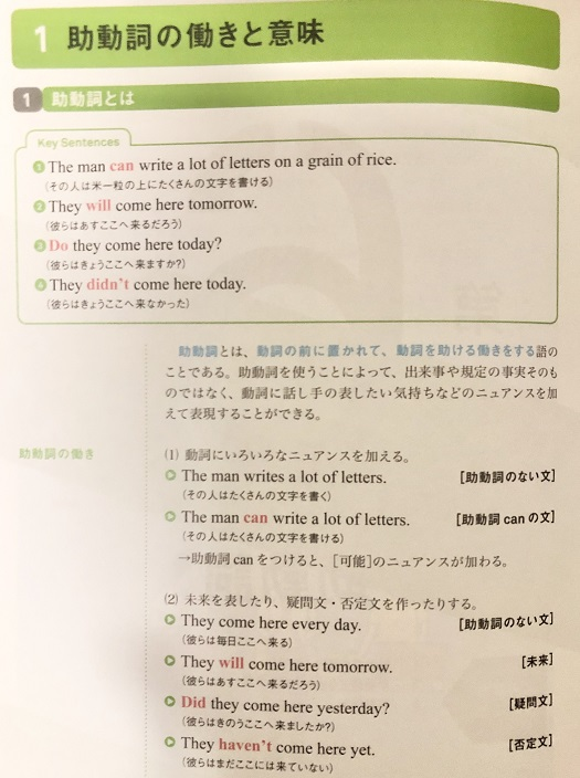 よくわかる英文法の中身